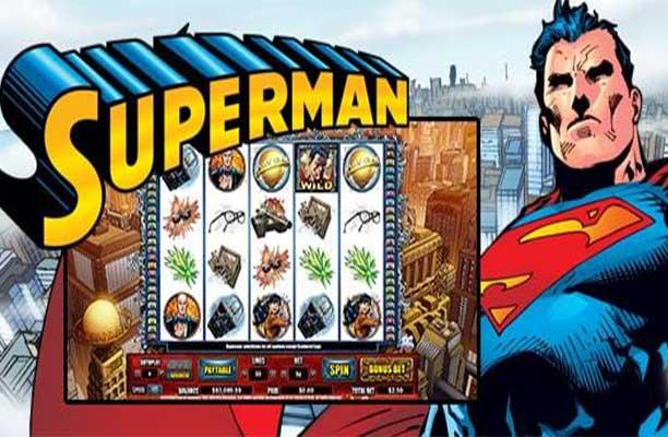 รีวิวสล็อตออนไลน์ SUPERMAN
