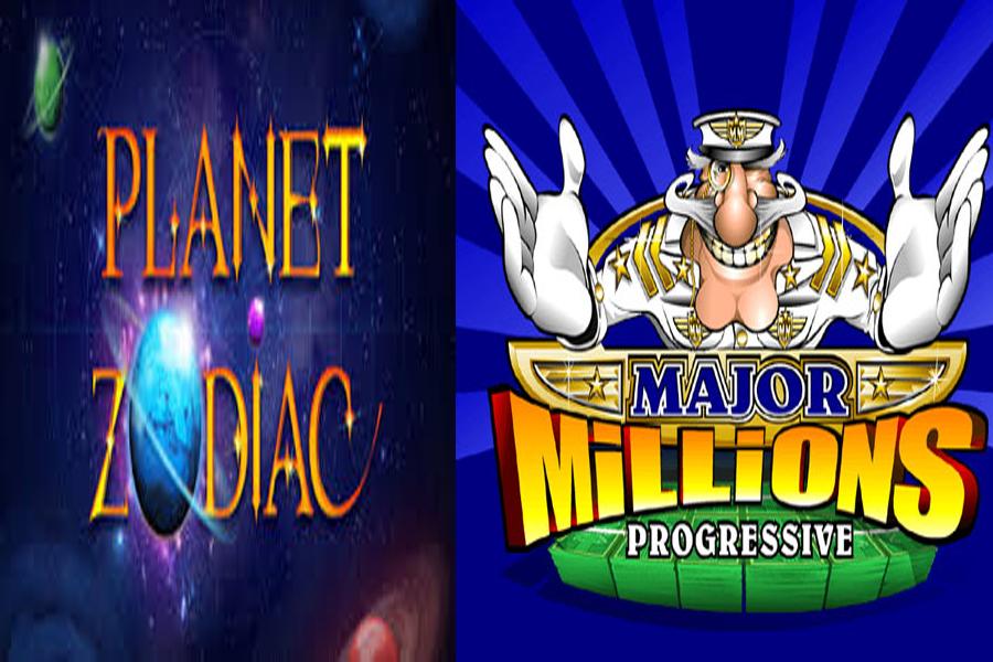 สล็อตออนไลน์ Major Millions กับ Planet Zodiac