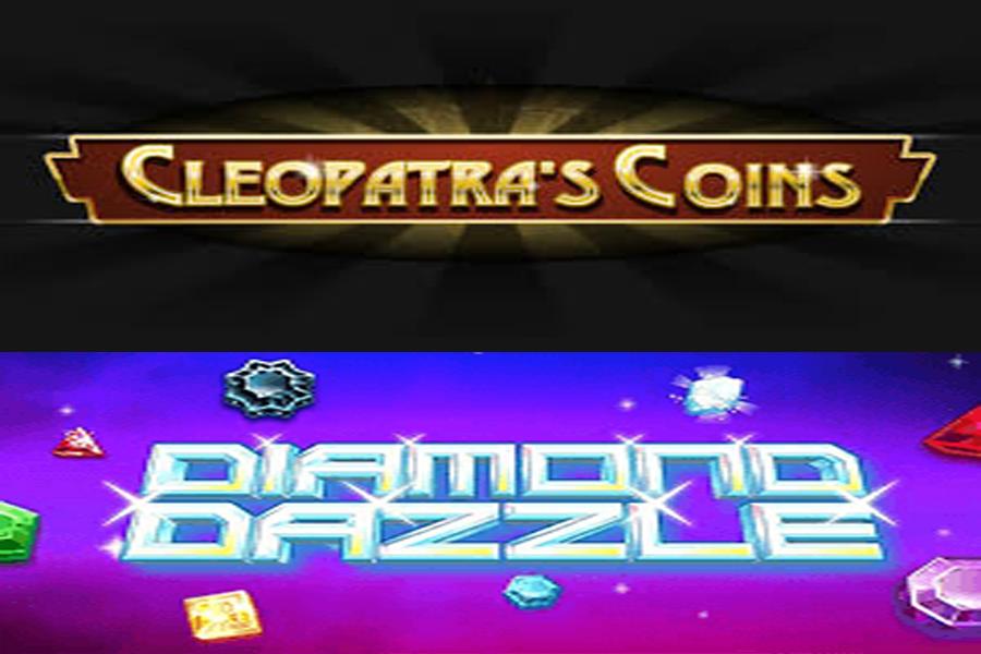 สล็อต DIAMOND DAZZLE กับ CLEOPATRAS COINS