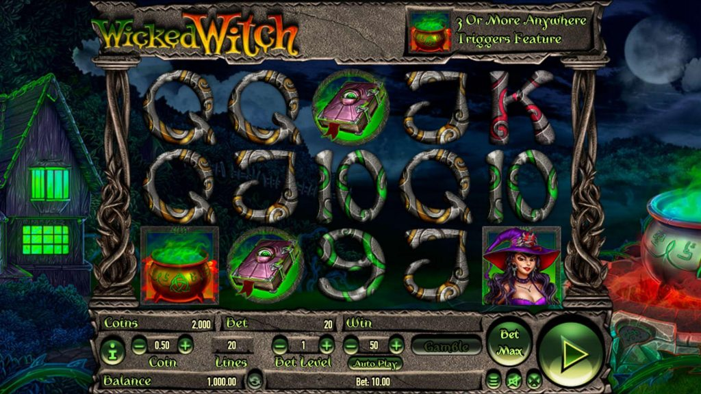 สล็อตออนไลน์ 100 Pandas กับ Wicked Witches