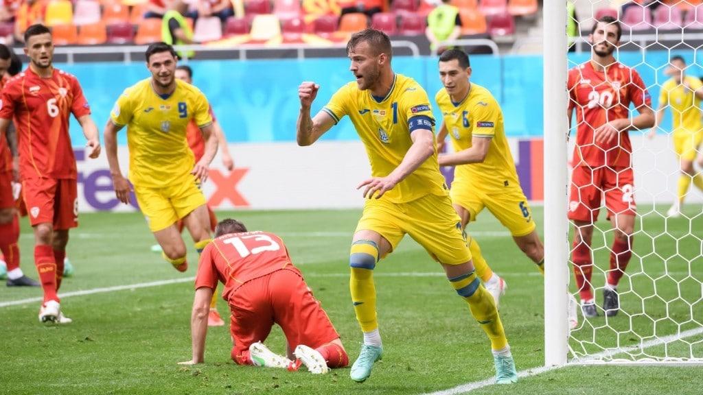 ยูเครนชนะมาซิโดเนียเหนือ