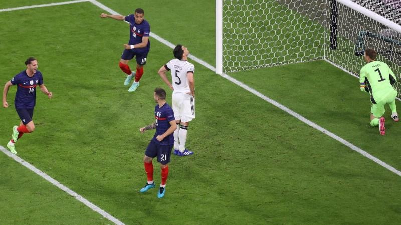 ฝรั่งเศสชนะเยอรมัน 1-0 ในศึกฟุตบอลยูโร 2020 กลุ่ม เอฟ ในรอบแบ่งกลุ่ม