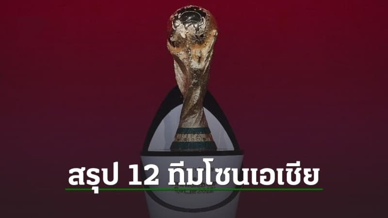 รอบ12ทีมสุดท้ายเอเชีย แข่งขันในช่วงเดือน ก.ย.64 และจบในเดือน มี.ค.64