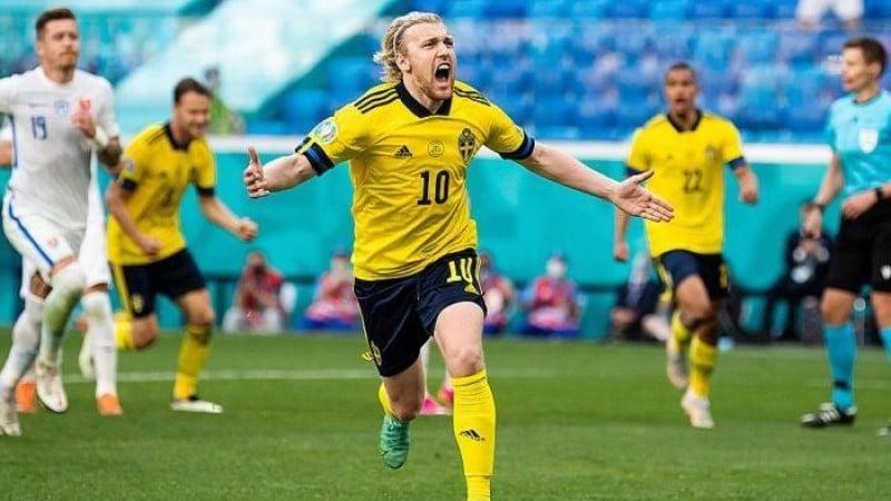 สวีเดนชนะสโลวาเกีย 1-0
